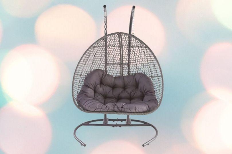 Rattan Large Hanging Egg Chair - £259.94 delivered @ Aldi