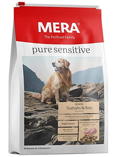 12.5kg MERA Pure Sensitive Senior Turkey and Rice Dog Food £9.41 Prime at Amazon (+£4.49 non Prime)