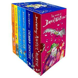 The World of David Walliams: 6 Book Box Set - The Works £20 delivered / free Click & Collect