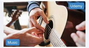 Learn to Play Guitar In 20 Days - free with code @ Udemy