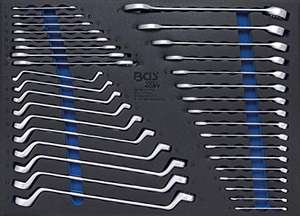 BGS 4089 | Tool Tray 3/3: Open End / Ring Spanners | 35 pc £22.98 at Amazon