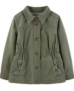 Girl's twill button up jacket size 3 years £10.16 Amazon Prime (+£4.49 Non Prime)