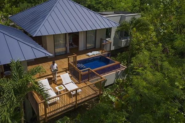 Raffles, Praslin, Seychelles / Half Board / November 2022 £4501 for 2 people at Travel Republic