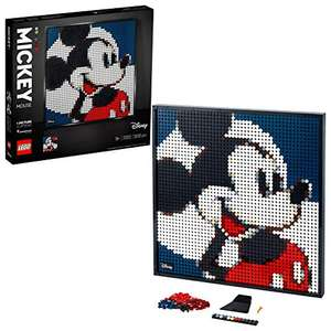 LEGO 31202 Art Disney's Mickey Mouse Poster, Canvas Wall Décor, DIY Set for Adults £80 at Amazon
