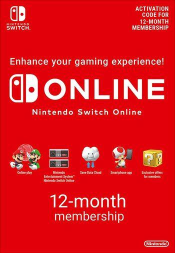 Nintendo Switch online 12 months membership £12.74 with code @ Eneba (gamerusforenba)