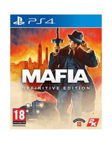 Mafia definitive edition on xbox and ps4 £7.99 + £3.99 delivery at Very