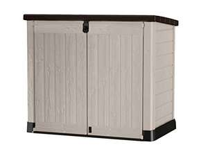 Keter Store It Out Pro, Outdoor Storage Unit, Beige/Brown (In stock on June 11) £120.81 @ Amazon UK
