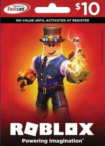 $10 Roblox gift card £6.33 with code @ Eneba