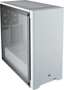 Corsair Carbide Series 275R Tempered Glass Mid-Tower ATX Gaming Case, £37.94 at Amazon (£43.39 for the black one)