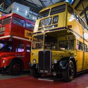 Free entry to London Transport Museum 7-11 June when you buy a National Lottery Ticket or Scratch Card @ London Transport Museum