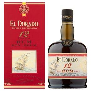 El Dorado 12 Year Old Rum70cl £30 at Waitrose