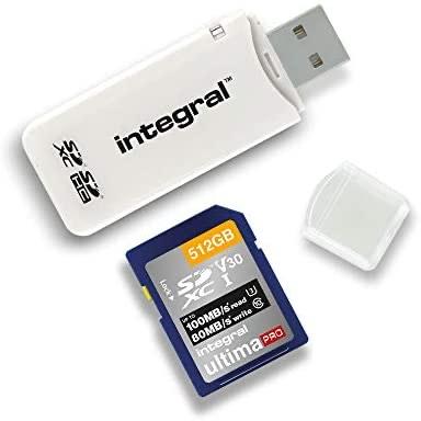 Integral SD Card Reader USB2.0 for SD, SDHC, SDXC Memory Cards - £1.99 Prime (+ £4.99 Non Prime) @ Amazon