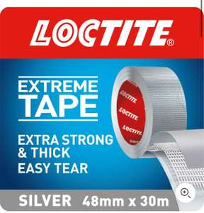 Loctite Extreme Tape 30m Silver - £5.93 (+ Free Click+Collect) @ Homebase