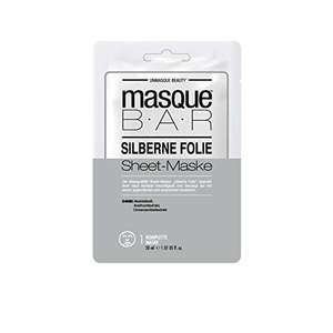 masque BAR Foil Cloth Mask Care Mask Sachet Silver 30ml Pack of 6 - £1.75 (+£4.49 Non-Prime) UK Mainland Sold by Amazon EU @ Amazon