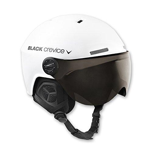Black Crevice Ski helmet with two visors - S/M only - £19.54 (+£4.49 Non-Prime) @ Amazon