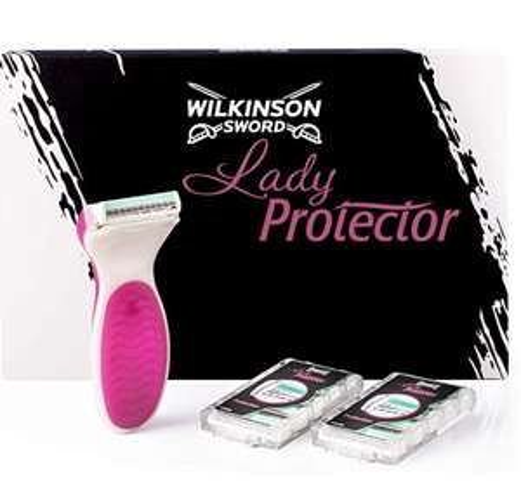 Wilkinson Sword Lady Protector Razor (with 10 replacement blades) £4.81 prime / £9.30 non prime @ Amazon