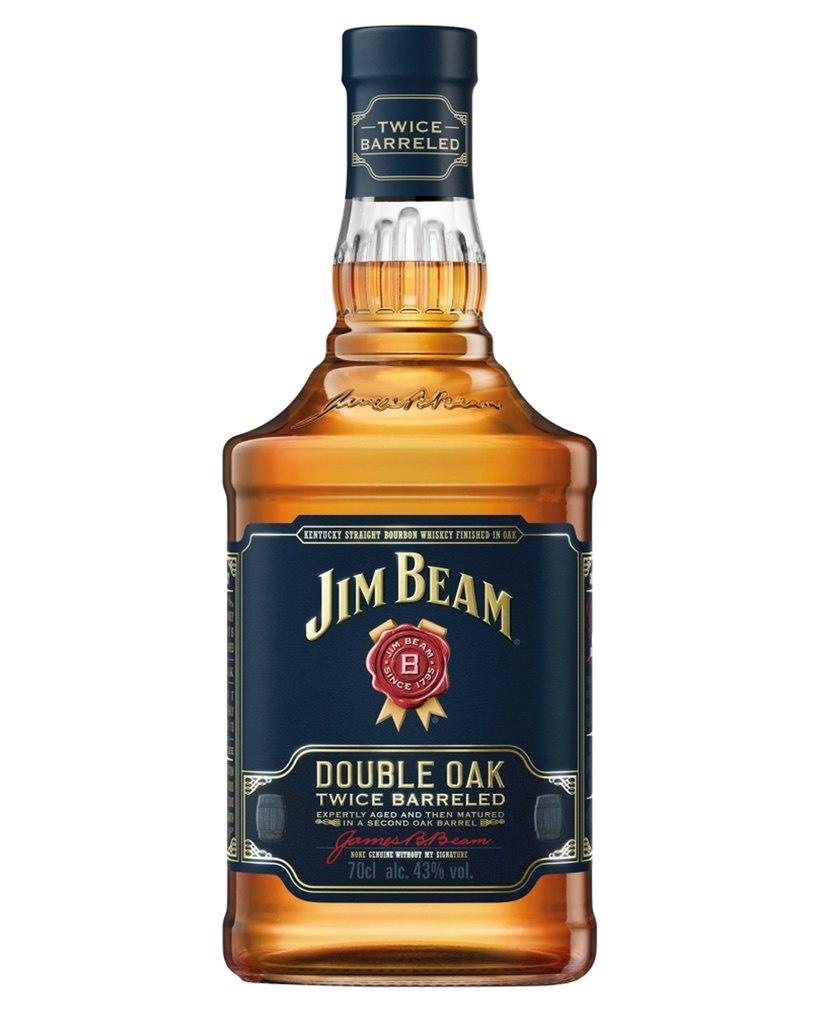 Jim Beam Double Oak Kentucky Straight Bourbon Whiskey 700ml- £10.83 @ Co-Op Colney Road, Dartford