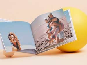 Free A4 photo book (Worth £36.99) when you pay £5.49 postage @ Vodafone VeryMe Rewards