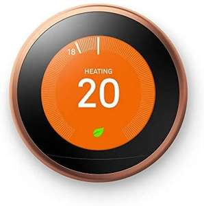 Google Nest Learning Thermostat, 3rd Generation, Copper - £148 Delivered @ Amazon