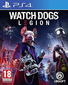 Watch dogs: Legion PS4 (free upgrade to ps5) - £16.45 (+£2.99 Non Prime) @ Amazon