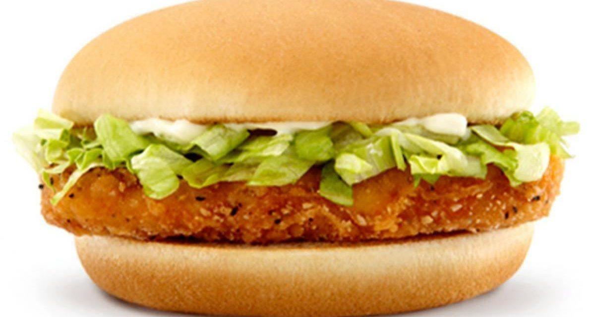 McChicken Sandwich 99p via app (selected accounts) @ McDonald's