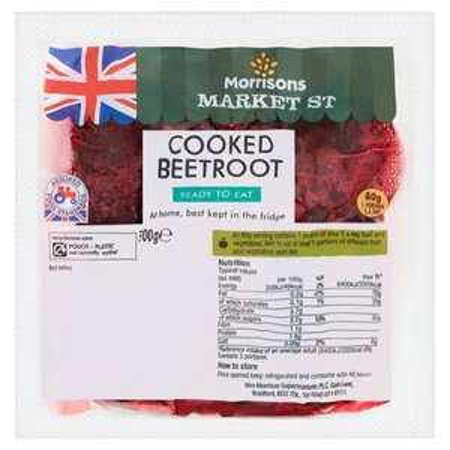 Morrisons Natural Cooked Beetroot 300g 39p / Radish 200g 39p / Broccoli 49p / Wonky Lemons 4 Pack 55p @ Morrisons