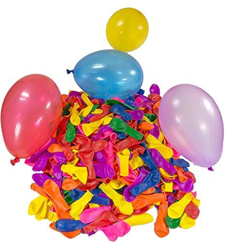 Water Balloons Bombs with Hose Nozzle Games Summer Pool Splash Fight Outdoor Garden Toys 88p (+£4.49 Non Prime) @ Amazon