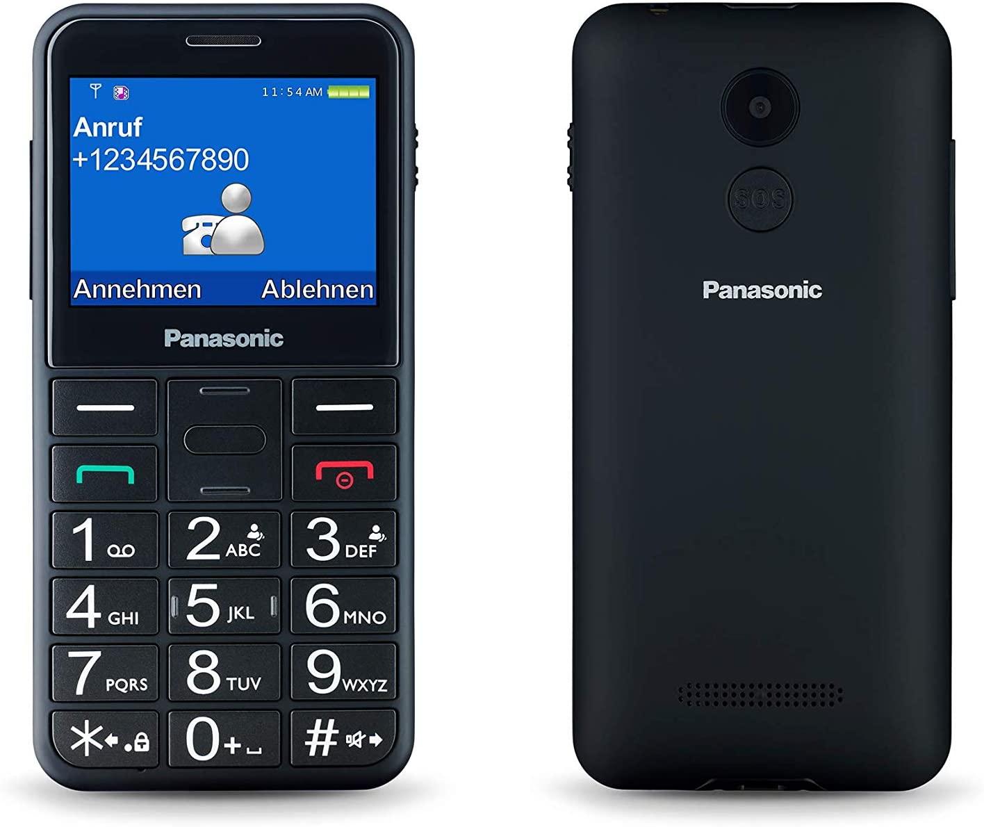 "Panasonic KX-TU150EXC 2.4"" Mobile Phone Black - £10.67 (+£4.49 Non Prime) @ Amazon"