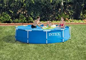 Intex Round Pool Frame without filter pump, 305 x 76 cm £115.77 @ Amazon