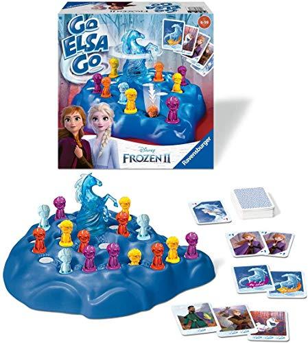 Ravensburger Disney Frozen 2 Go Elsa Go Game £3.89 (Prime) + £4.49 (non Prime) at Amazon