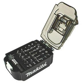 """Makita E-00016 ¼"""" / 25mm Hex Shank Mixed Screwdriver (impact compatible) Bit Set 31 pieces for £9.99 click & collect @ Screwfix"""