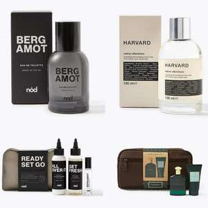 30% Off Men's Grooming Gifts - e.g. Harvard Vetiver Aftershave 100ml £5.25, Bergamot EDT 30ml £5.25 + Free click & collect @ Marks & Spencer