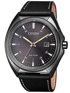 CITIZEN Eco-Drive Analogue Quartz Watch with Leather Strap AW1577-11H £81.53 from Amazon