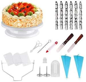 71pc Professional cake Decorating Kit Now £6.99 + £4.49 Non Prime/ FREE for prime (get £10 voucher back ) @ Sold by HOMEASY and FBA