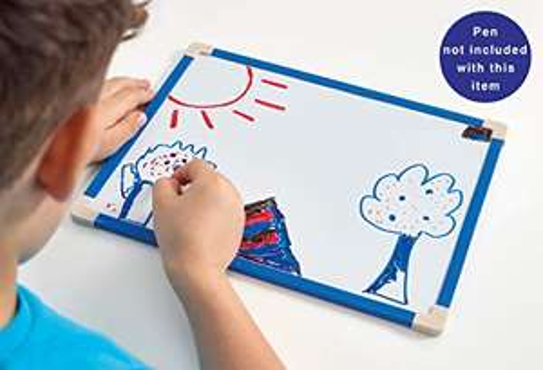 Brainstorm Toys B1500 Lockdown Home-Schooling Sensation A4 Magnetic Dry Wipe Board - £2.46 (+£4.49 non prime) @ Amazon