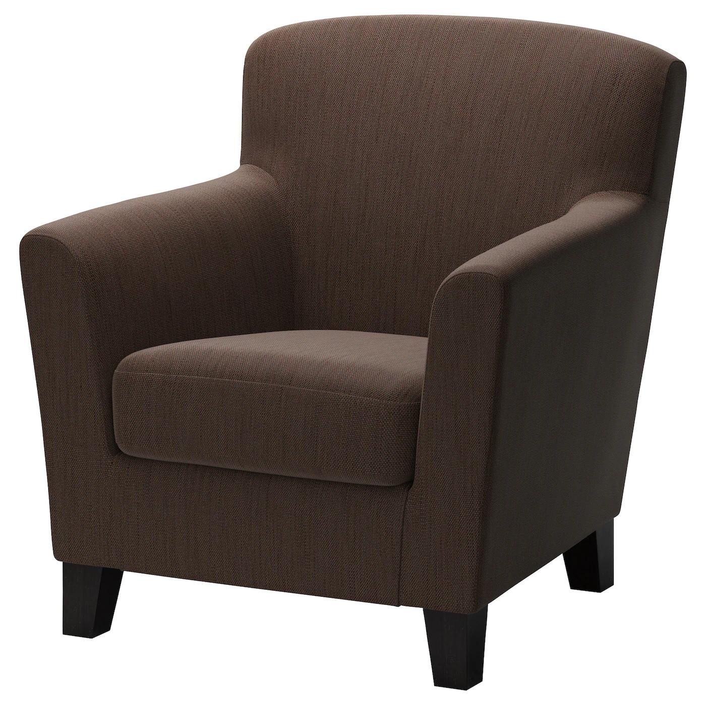 EKENÄS Armchair (Hensta Dark Brown or Hensta Light Brown) or EKERÖ Armchair £99 Each instore @ Ikea