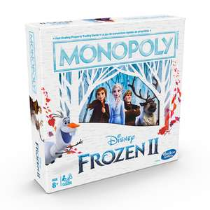 Disney Monopoly - Frozen II board game £12 + £3.99 delivery at The Entertainer