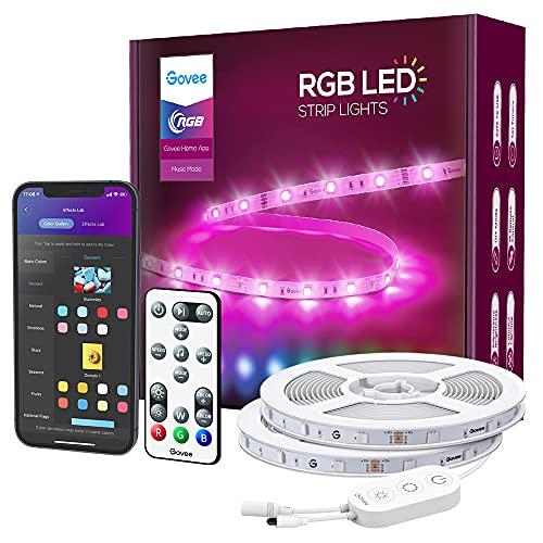 Govee 15m Smart Alexa / Google Compatible WiFi RGB LED Strip Lights £29.99 using code @ Govee / Amazon