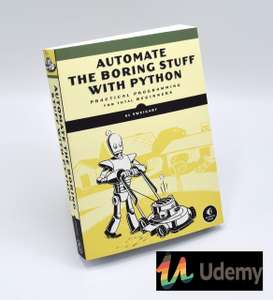 Automate the Boring Stuff with Python Programming - free with code @ Udemy