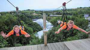 Hangloose at The Eden Project – Sky Wire with Free Photo and Video for Two £56.25 (E-Voucher) @ Red Letter Days