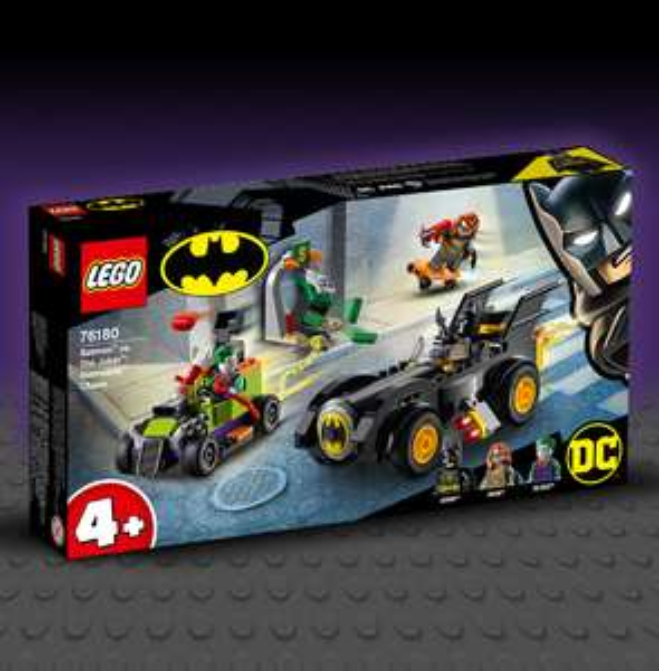 Lego 76180 Batman vs. The Joker Batmobile Chase for £18.58 delivered using code @ Funky Pigeon