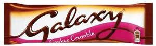 Galaxy Smooth Milk Chocolate Cookie Crumble 40g Bars are 4 for £1 @ Farmfoods Ashton U Lyne