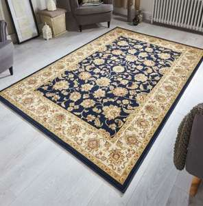 Kendra traditional rugs in various colours and sizes from £39.20 (80 x 140cm) delivered using code @ The Rugs Warehouse