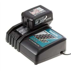 Genuine Makita 18V 4.0Ah LXT Lithium Battery BL1840 + DC18RC Fast Charger £111.77 at buyaparcel-store ebay