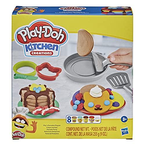 Play-Doh Kitchen Creations Flip 'n Pancakes Playset £6.74 (Prime) + £4.49 (non Prime) at Amazon
