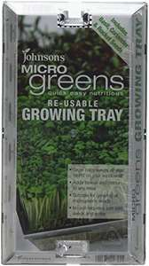 Mr Fothergill's Microgreens Growing Kit and 3 Packets of Seeds (Basil, Corriander & Rocket) £2.77 (Prime) + £4.49 (non Prime) at Amazon