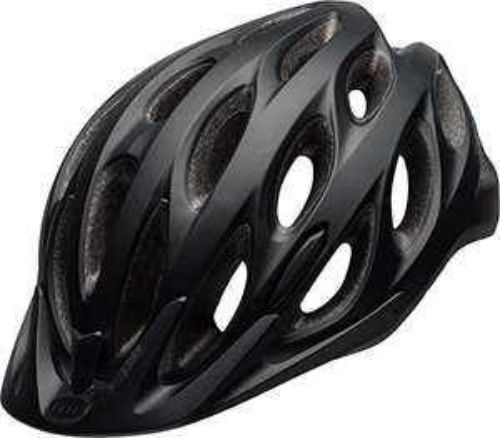 Bell Tracker Cycling Helmet, Non-MIPS, Matt Black, Unisize (54-61 cm) £15.96 (Prime) + £4.49 (non Prime) at Amazon
