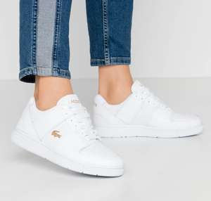 Women's Lacoste Thrill 120 Trainers Now £39.99 White or Pink Free click & collect or £3.95 delivery @ Footasylum