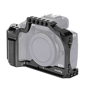 SMALLRIG Camera Cage for Canon EOS M50/M50 (New Version) - £47.12 - Sold by SmallRig Direct / Fulfilled by Amazon