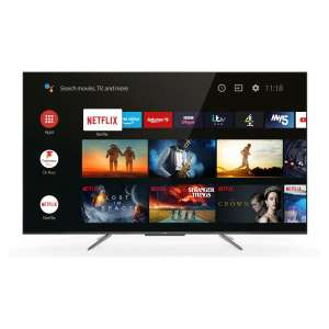 """TCL 65C715K 65"""" QLED 4K Ultra HD Smart Android TV with Voice Control £664 @ Hughes"""